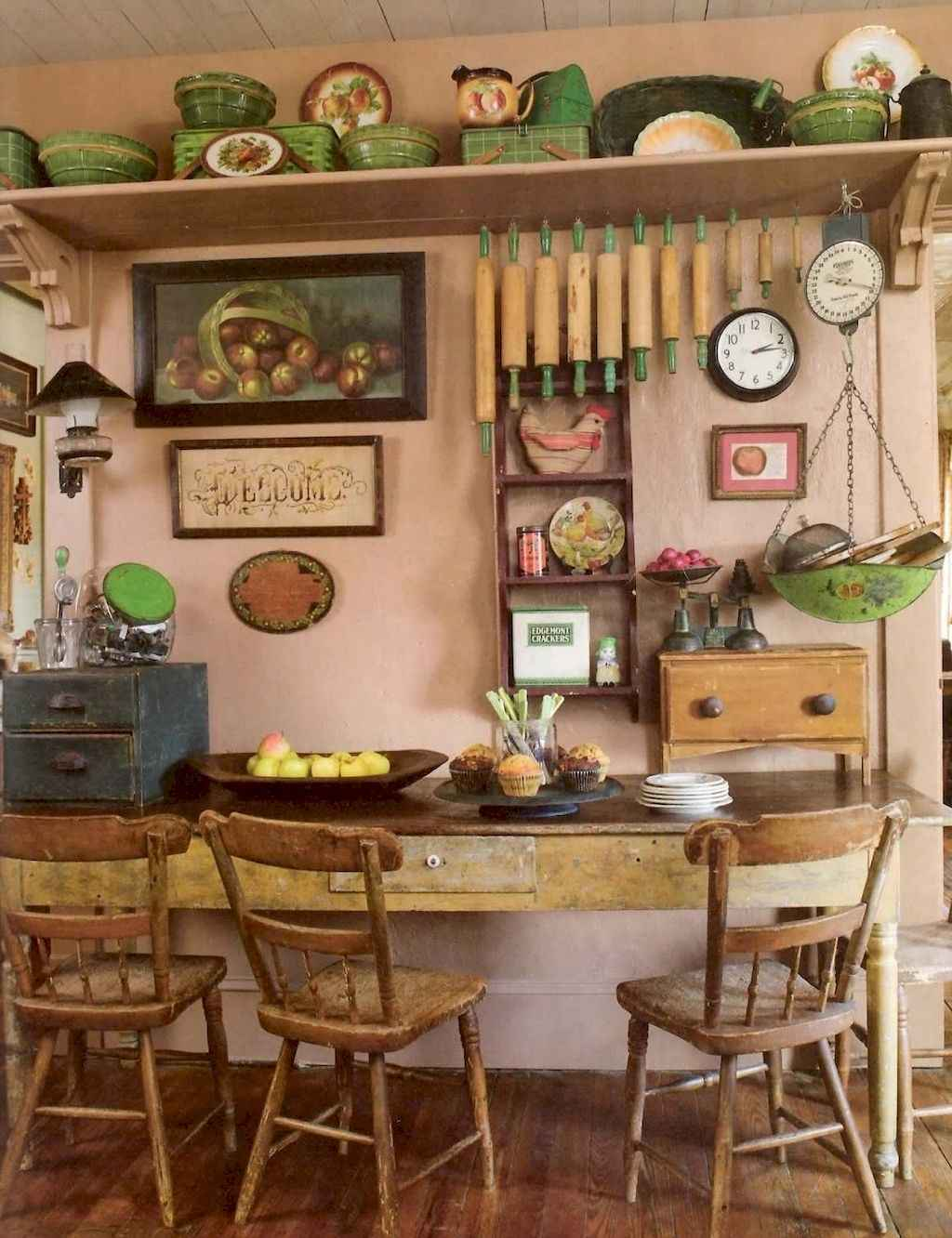 76 Simple French Country Kitchen Decor Ideas