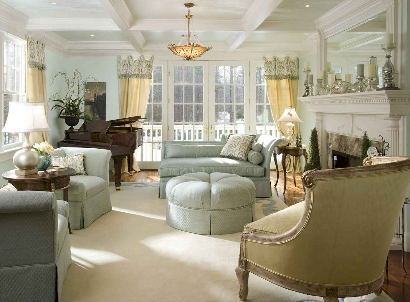 43 Incredible French Country Living Room Decor Ideas